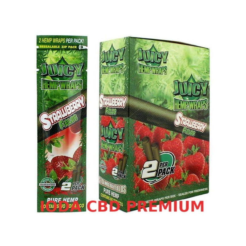 BLUNT JUICY HEMP FRAISE
