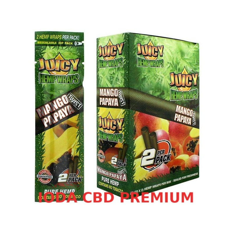 BLUNT JUICY HEMP MANGUE PAPAYE