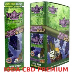 BLUNT JUICY HEMP RAISIN ROUGE