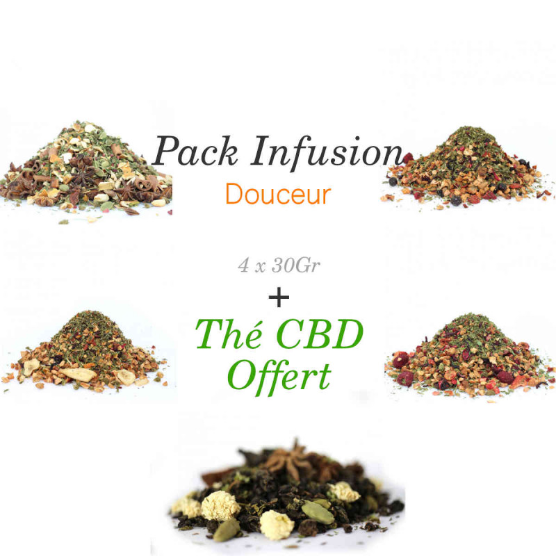 Pack Infusion - Douceur