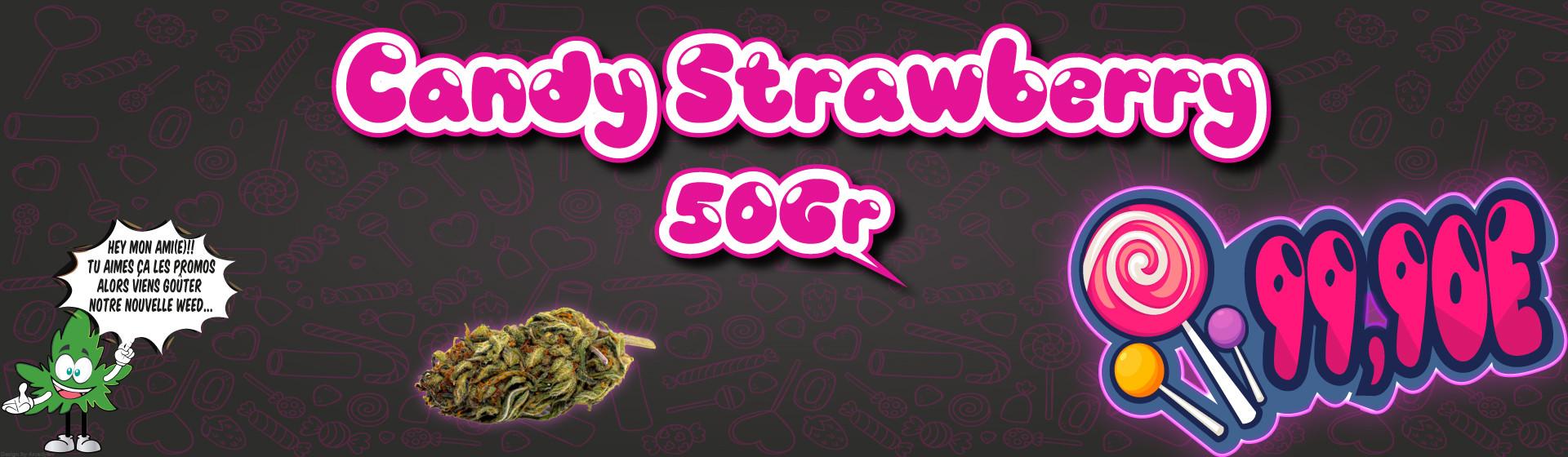 Candy strawberry