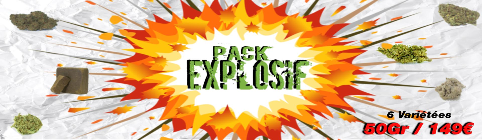 Pack Cbd explosif