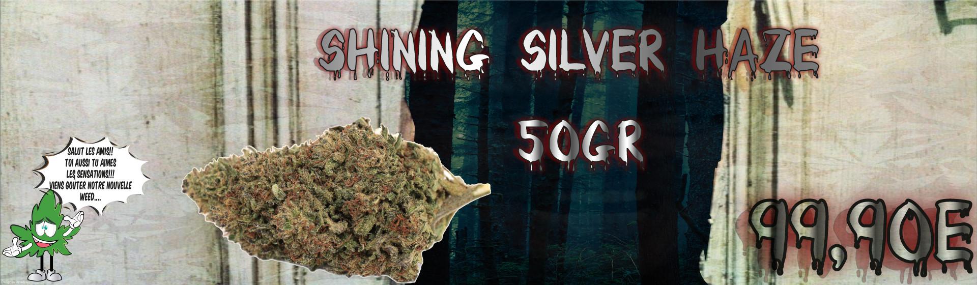 Promo Shining Silver Haze